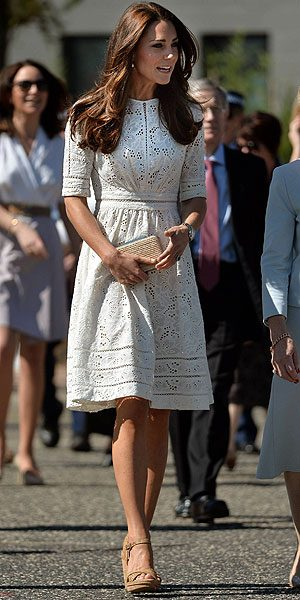 Kate Middleton wows in another fancy frock on the royal tour