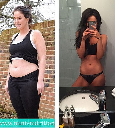 These before-and-after photos show how much your body can change from drinking less alcohol