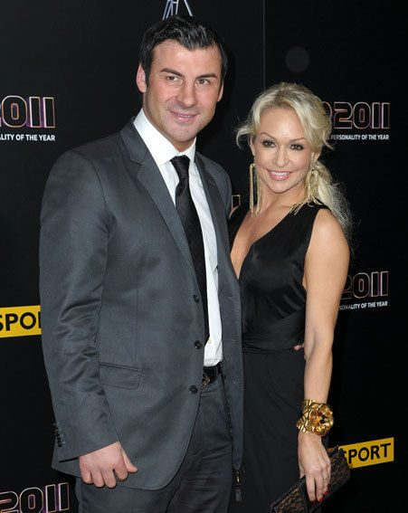 Joe Calzaghe and Kristina Rihanoff