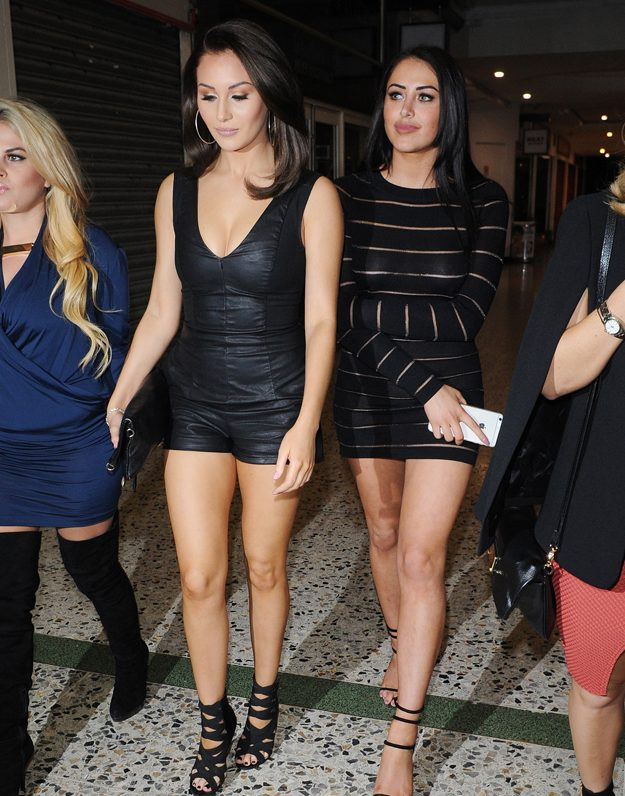 Marnie Simpson parties with Chloe Goodman after revealing she is 100% single