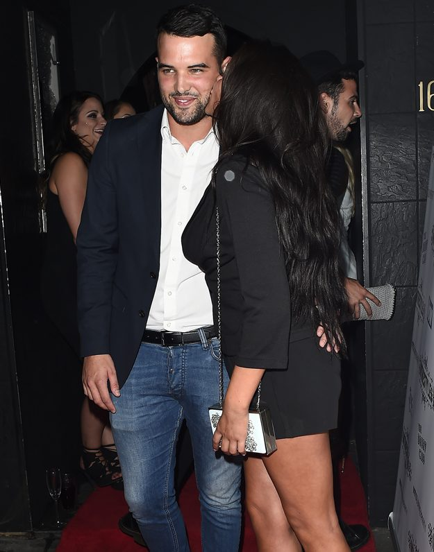 Marnie Simpson and Ricky Rayment were engaged in 2015 before calling time on their relationship in September