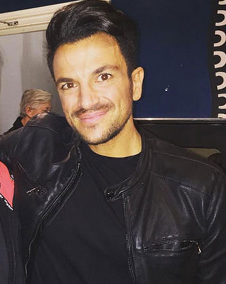 Peter Andre shared a rare photo of his youngest daughter