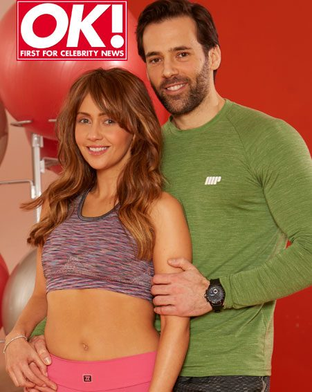 Samia Ghadie and Sylvian Longchambon are getting fit together