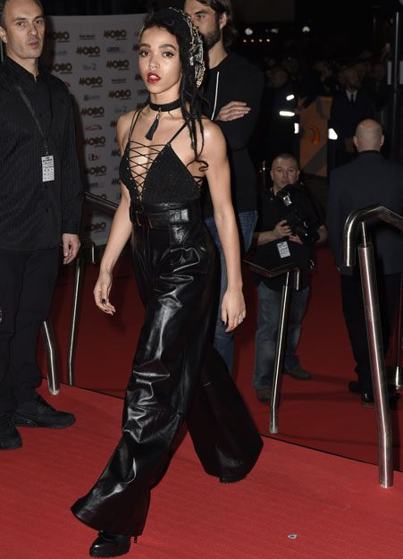 FKA Twigs looked morbid at the MOBO Awards