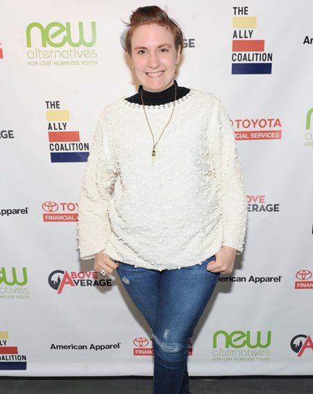 Lena Dunham thanked her fans for their support