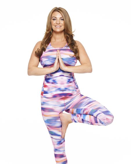 Billi feels comfortable getting back in her revealing yoga gear after losing three stone