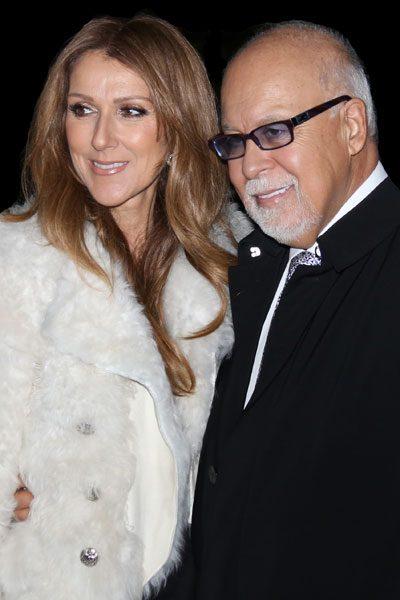 René Angélil was also Celine's manager