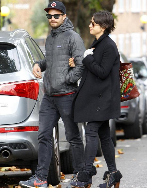 Jamie Dornan and Amelia Warner are expecting their second baby together