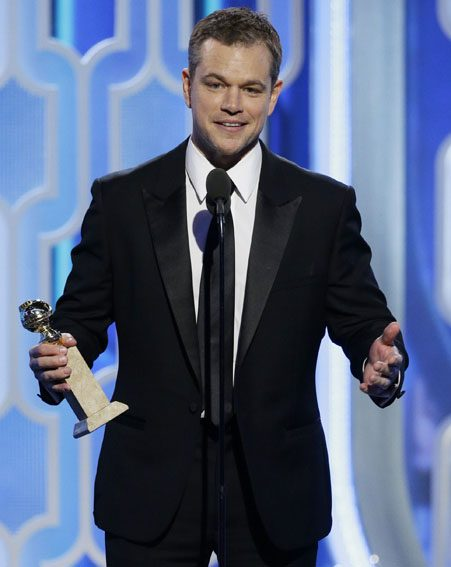 Matt Damon has also been nominated for the Best actor