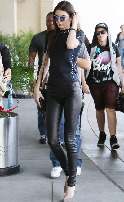 Kendall Jenner accompanied her sister