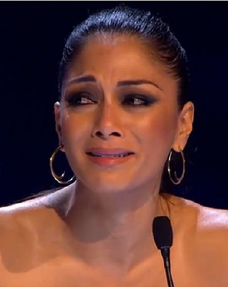 Nicole Scherzinger was already crying by the end of Jahmene's first performance