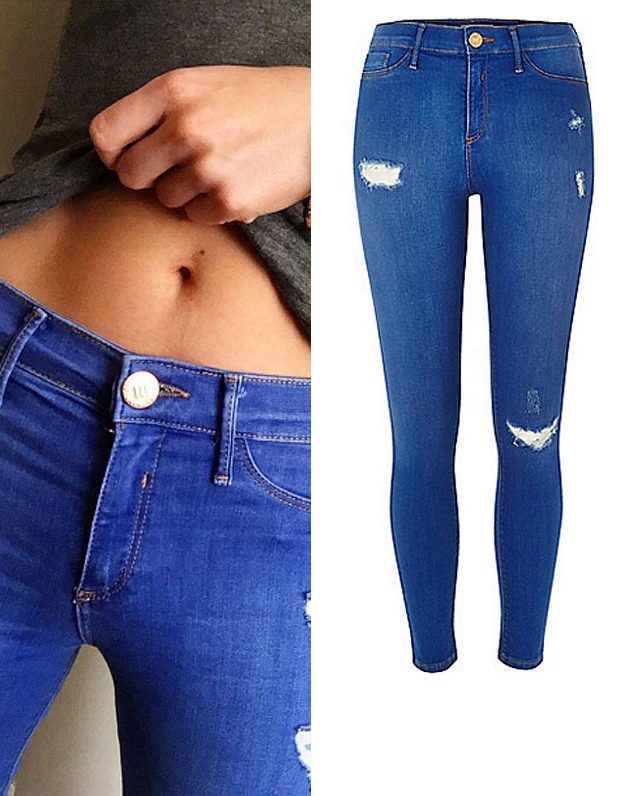 Mollie King is a big fan of Molly jeans!