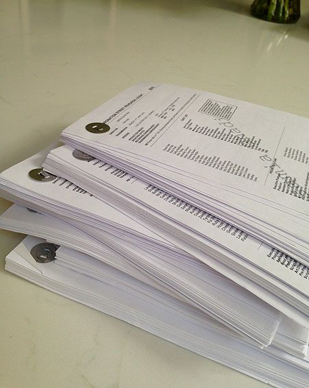 My big pile of new Corrie scripts.. Need to get learning them now!