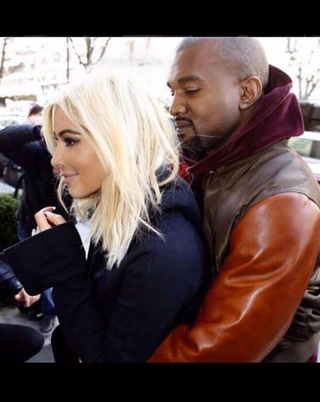 Kim Kardashian and Kanye West have been getting amorous in Paris, the city of love