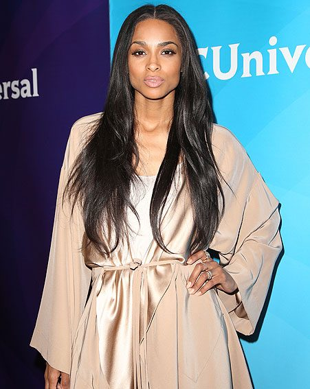 Sadly, Ciara's statement jewellery wasn't to last as she split with her fiancé