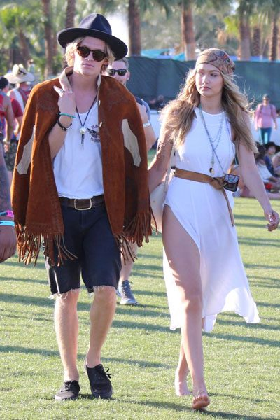 Gigi Hadid and her boyfriend Cody Simpson made a very fashionable couple