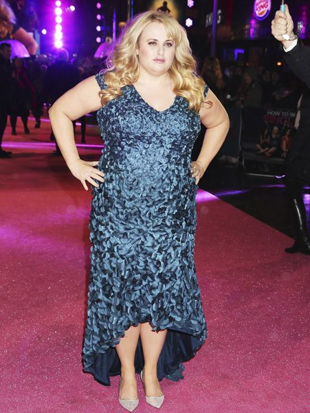 Rebel Wilson dug up an old photo from her earlier days as an actress
