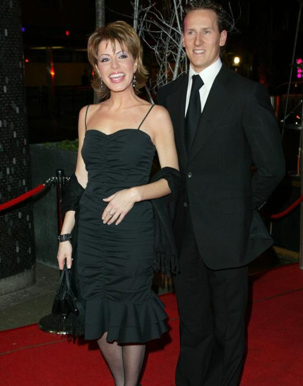 Natasha Kaplinsky and Brendan Cole were the first couple to be hit by the Strictly curse