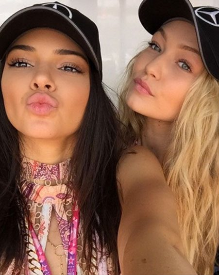 Gigi Hadid and Kendall Jenner spotted a hot homeless man on a beach and got him signed with a modelling agency