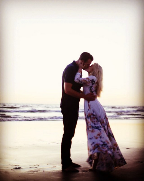 Witney Carson got engaged to her childhood sweetheart Carson McAllister in October 2015