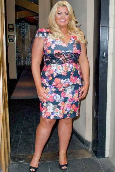 Gemma Collins squeezed her curves into a floral number