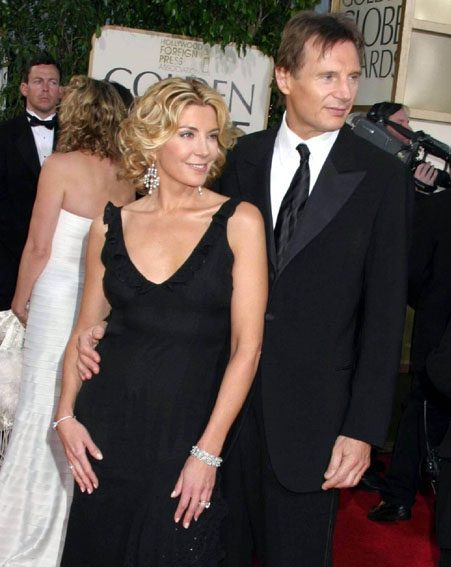 Liam neeson sets to record straight about his a list for Natasha richardson and liam neeson
