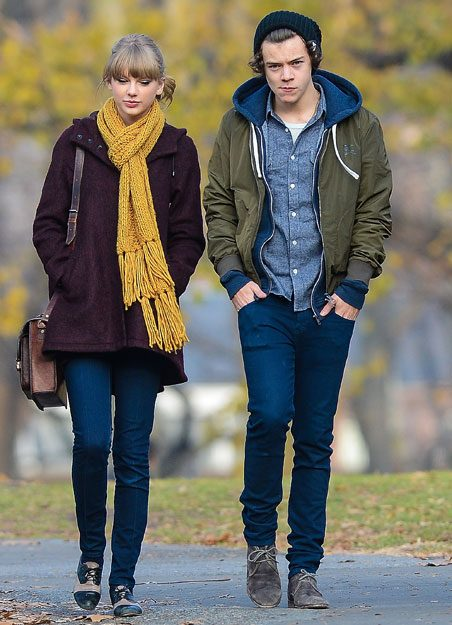 Taylor Swift and Harry Styles dating in 2013