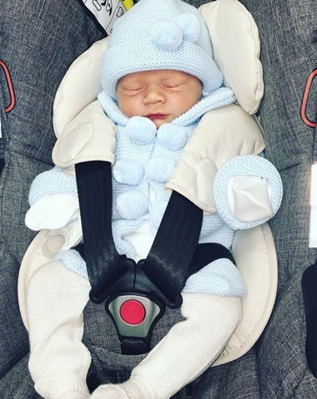 Coleen Rooney shares adorable photo of newborn son Kit