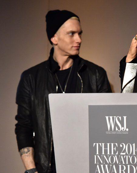 The rapper showed signs of past drug abuse
