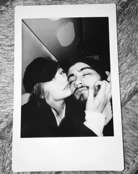 Zayn appears to confirm his relationship with this Instagram snap