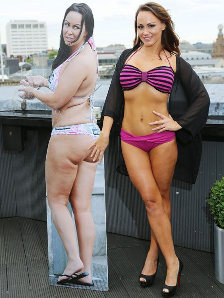 Such casual Bikini before and after nude sorry, that