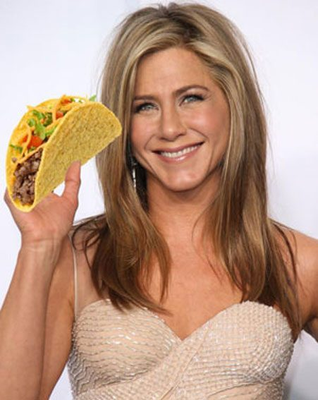 Jennifer Aniston has jumped on the new taco food cleanse