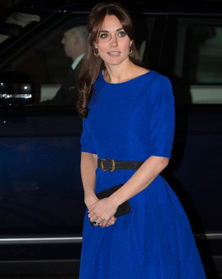 The Duchess of Cambridge stepped out on a solo engagement at an awards ceremony in London