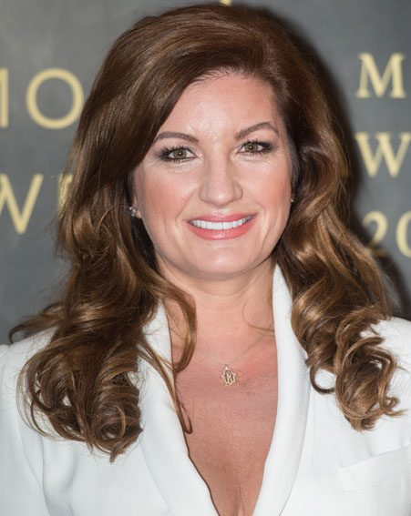 Karren Brady has been treated by leading skincare guru, Lee Garrett