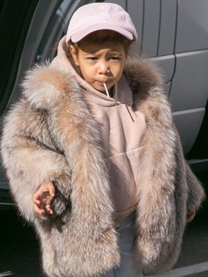 Kardashian fans were not happy about the 2 year olds jacket