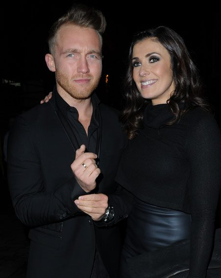 Kym Marsh and her new man Matt Baker