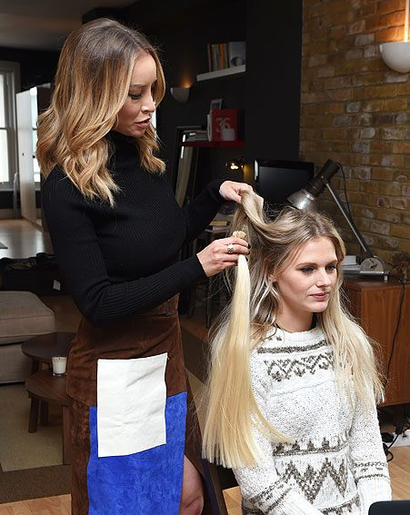 The Essex beauty is a big fan of the grey hair trend
