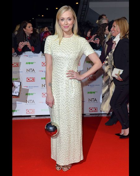 Fearne Cotton showed off her slim frame at the National Television Awards 2016