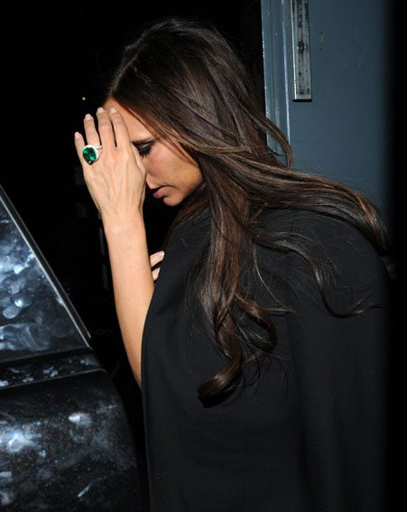 Victoria Beckham celebrated her 40th birthday in London