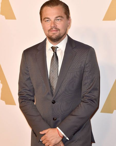 Leonardo DiCaprio is nominated for Best Actor