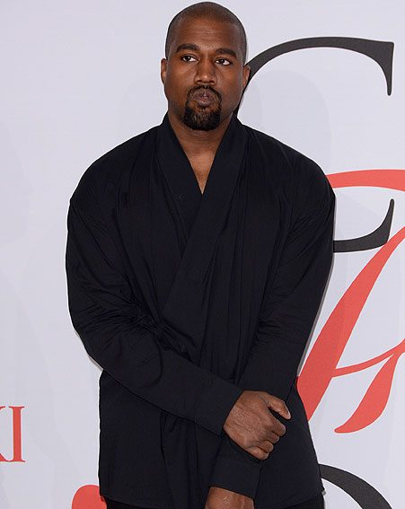Kanye West has won the Most Stylish Man of 2015