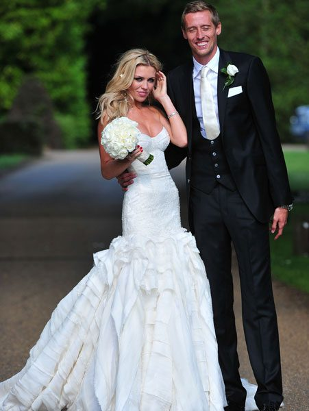 Abbey Clancy's wedding dress is Billie's biggest inspiration