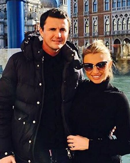 The TOWIE star is engaged to Greg Shepherd