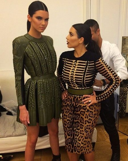 Kendall Jenner's sisters also love the leopard trend