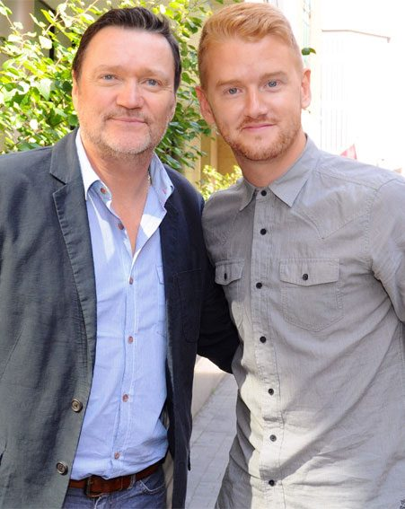 Former Corrie star Ian Puleston-Davies was Mikey's best man
