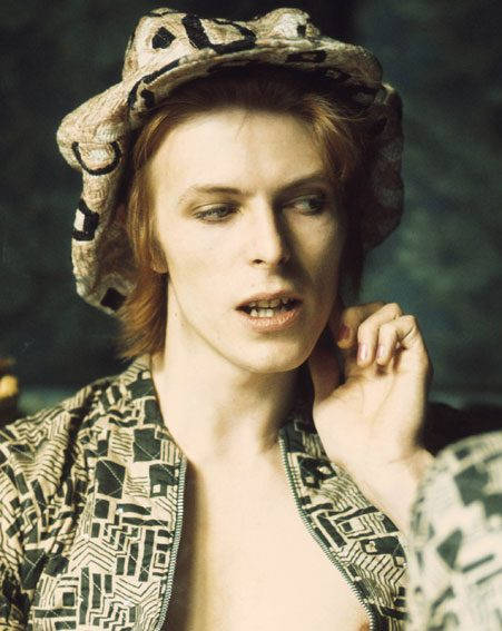 David Bowie before Ziggy in 1972