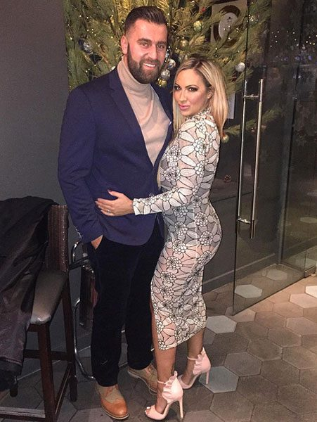 Jodie Marsh and James Placido had their first Christmas as a married couple