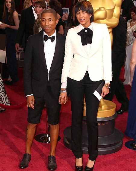 Pharrell Williams makes bold fashion statement at the ...