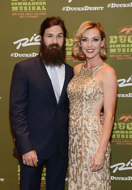 Duck Dynasty's Jep and Jessica Robertson have adopted a son
