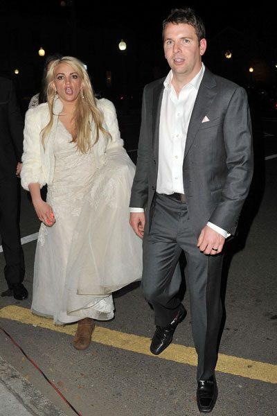 Wedding aftermath: Jamie Lynn Spears wears Uggs as she ...